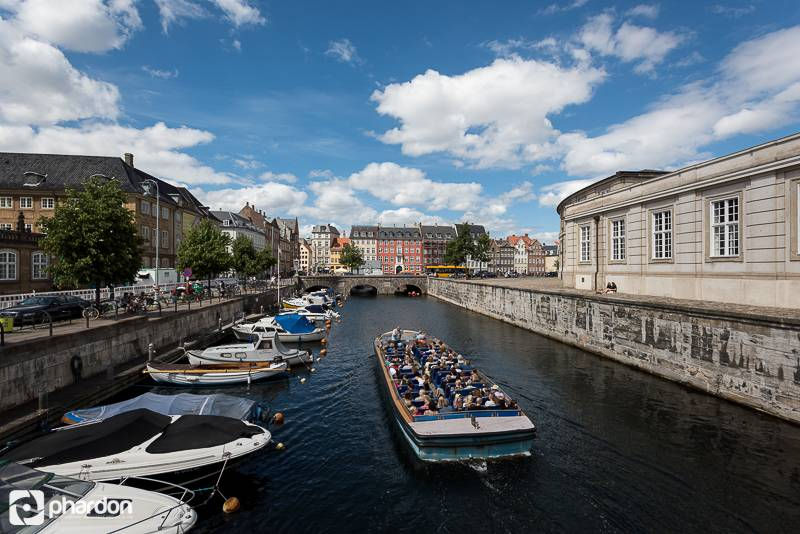 You can get canal tour in Copenhagen